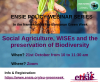 "21 ottobre 2020 _Webinar ""Social Agriculture, WISEs and the preservation of Biodiversity""..."